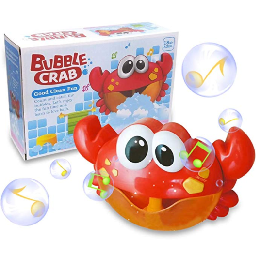 Baby Bath Bubble Toy